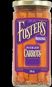 Carrot 500 mL transparent w label